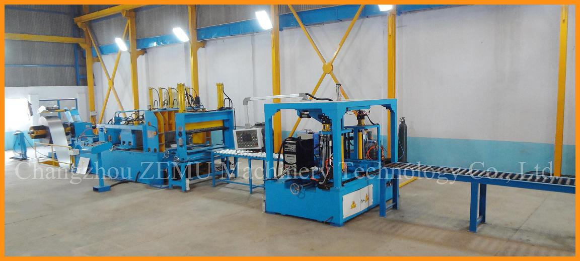 Corrugated Fin Production Line