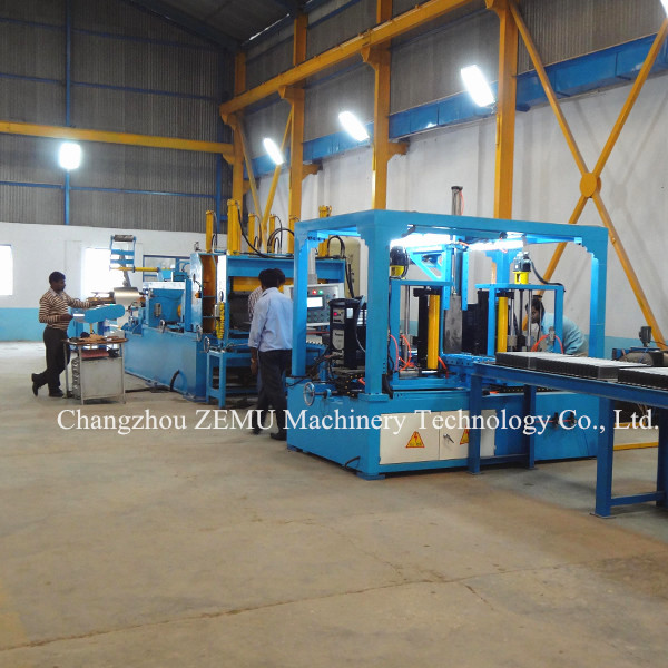 Corrugated Transformer Tank Machine