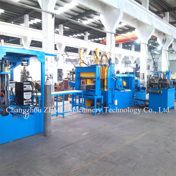 BW800A Corrugated Fin Wall Production Line